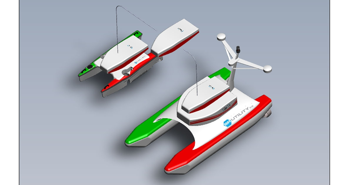 "SeaRobotics Launches Next Generation ""Utility Class"" ASV"