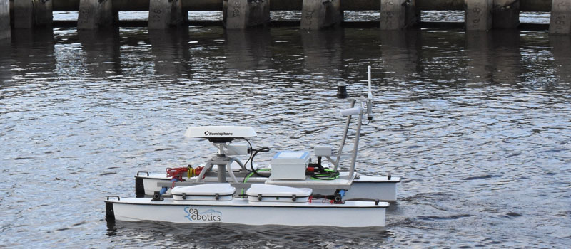 SRC 2.5 USV Bridge Survey