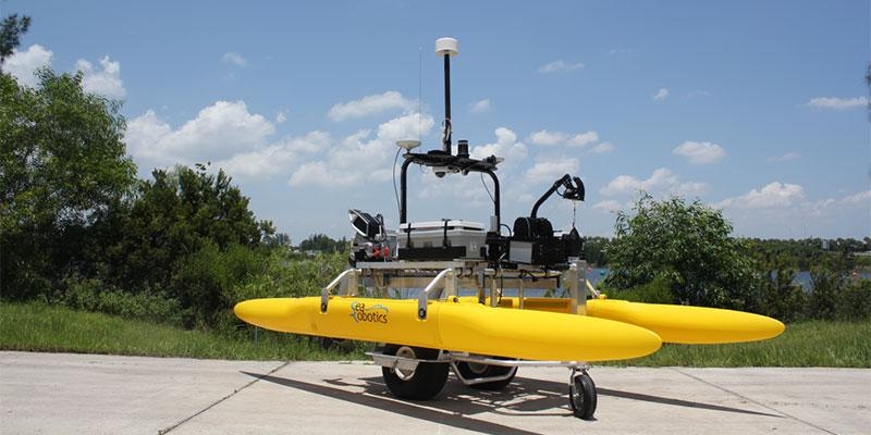 SeaRobotics Delivers 3.6 Meter Collapsible ASV to USACE